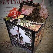 Для дома и интерьера handmade. Livemaster - original item Box in vintage style