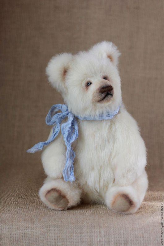 Мишки Тедди ручной работы. Ярмарка Мастеров - ручная работа. Купить Первый снег. Handmade. Белый, ручная работа