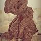Мишки Тедди ручной работы. ангел радости. авторский мишка тедди ручной работы. МАСТЕРСКАЯ СОВА. TEDDY-BEAR ART. Ярмарка Мастеров.