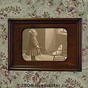 Сувениры и подарки ручной работы. Ярмарка Мастеров - ручная работа Фоторамка № 24 деревянная ручной работы. Handmade.