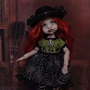 Шарнирная кукла ручной работы. Ярмарка Мастеров - ручная работа Маленькая ведьмочка. Handmade.