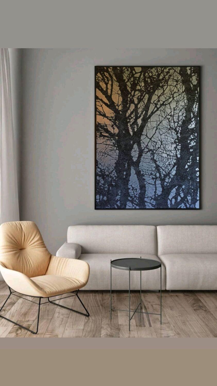 Большая интерьерная картина, Картины, Апрелевка,  Фото №1