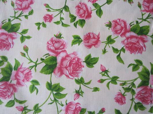 """Шитье ручной работы. Ярмарка Мастеров - ручная работа. Купить Ткань для творчества """" Винтажные розы"""" 3. Handmade."""