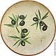 Декоративная тарелка `Олива`, 23 см