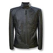 Одежда handmade. Livemaster - original item Women`s Python VENACI jacket. Handmade.
