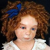 Куклы и игрушки ручной работы. Ярмарка Мастеров - ручная работа РЫЖИЙ РЕБЕНОК  44 см. Handmade.