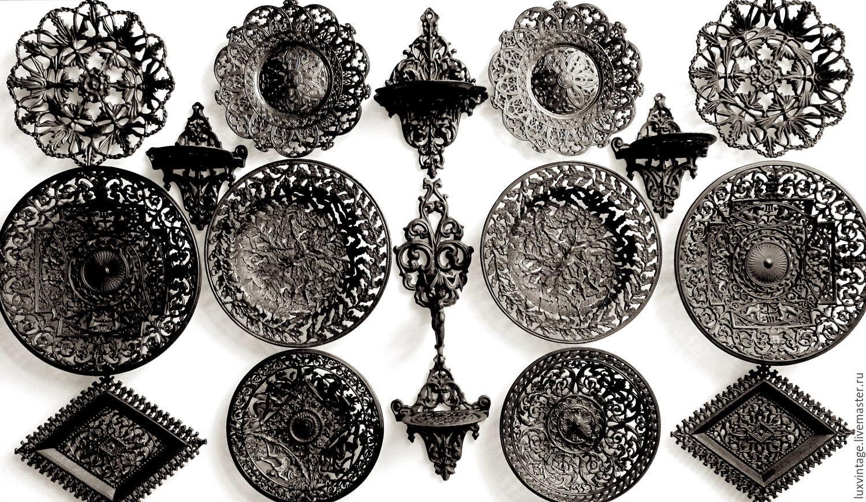 Чугунные сувениры на свадьбу
