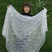 Аксессуары handmade. Livemaster - original item 40 downy shawl