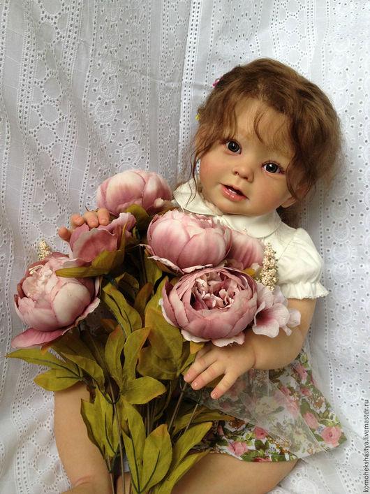 Куклы-младенцы и reborn ручной работы. Ярмарка Мастеров - ручная работа. Купить Кукла реборн Моника.. Handmade. Кремовый, Бонни