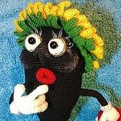 Материалы для творчества handmade. Livemaster - original item MK knitting Seeds Bubochki (description of the knitting). Handmade.