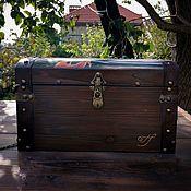Для дома и интерьера handmade. Livemaster - original item Forged chest