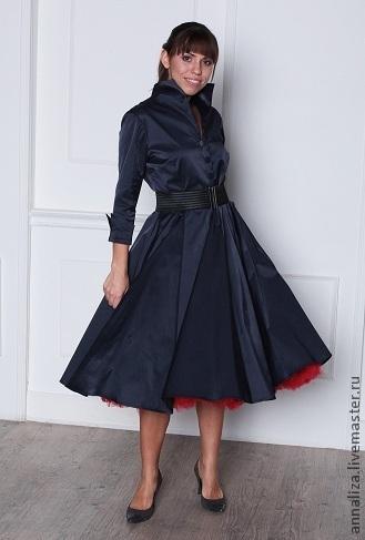 a9b49049f826 Платья ручной работы. Ярмарка Мастеров - ручная работа. Купить Ретро платье  в стиле 50 ...