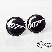 """Украшения ручной работы. Ярмарка Мастеров - ручная работа Запонки """"007"""". Handmade."""