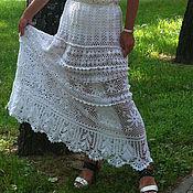 Одежда ручной работы. Ярмарка Мастеров - ручная работа Летняя длинная юбка. Handmade.