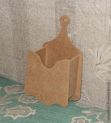 Декупаж и роспись ручной работы. Ярмарка Мастеров - ручная работа. Купить Подвесная коробочка. Handmade. Кухонная утварь, кухонный интерьер