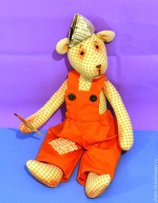 Куклы Тильды ручной работы. Ярмарка Мастеров - ручная работа. Купить медвежонок. Handmade. Кремовый, для детей и взрослых, хлопок 100%