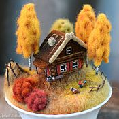 Для дома и интерьера handmade. Livemaster - original item homeland autumn. Handmade.