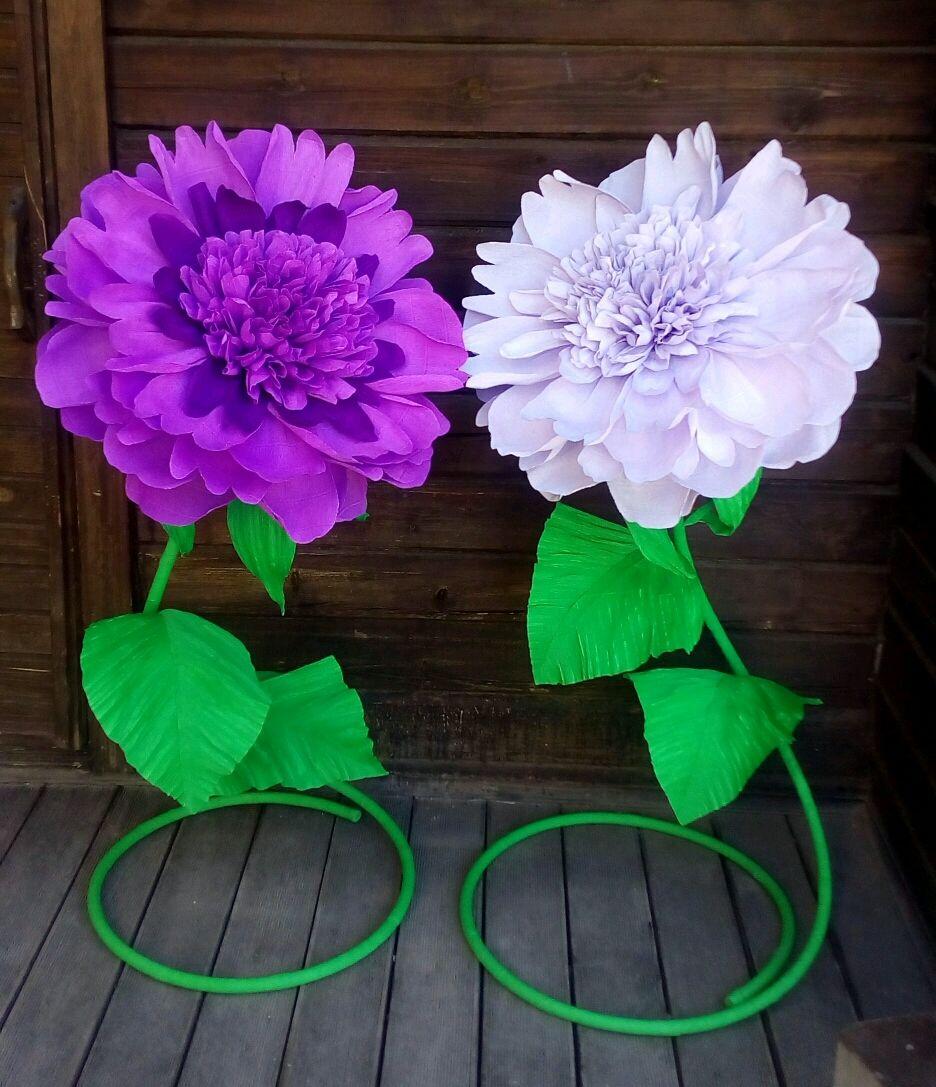 Цветы из гофры своими руками фото 272