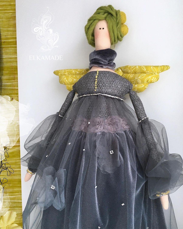 Интерьерная кукла Тильда Гретта, Куклы Тильда, Саратов,  Фото №1
