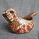 Bucket Konik, Ware in the Russian style, Zaraysk,  Фото №1