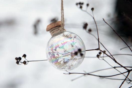 """Новый год 2017 ручной работы. Ярмарка Мастеров - ручная работа. Купить Ёлочный шар """"Счастливый"""", подарок со смыслом. Handmade."""