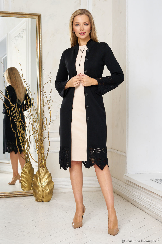 Premium black coat, Coats, St. Petersburg,  Фото №1