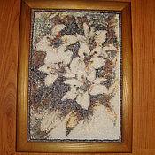 Картины и панно ручной работы. Ярмарка Мастеров - ручная работа Белая лилия. Handmade.