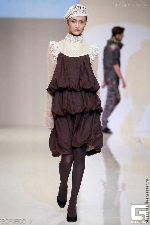 """Платья ручной работы. Ярмарка Мастеров - ручная работа. Купить Платье """"В стиле а-ля-рюс"""". Handmade."""