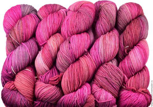 Вязание ручной работы. Ярмарка Мастеров - ручная работа. Купить Пряжа Malabrigo ARROYO 057 English Rose. Handmade.