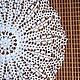 """Текстиль, ковры ручной работы. Ярмарка Мастеров - ручная работа. Купить Салфетка """"Ландыши"""". Handmade. Белый, ажурная салфетка"""