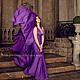 Платья ручной работы. Платье-трансформер Инфинити с юбкой-солнце тёмная сирень. Dudu-dress. Ярмарка Мастеров. Трансформер
