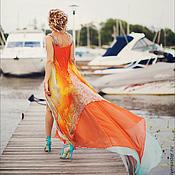 Одежда ручной работы. Ярмарка Мастеров - ручная работа Шикарное вечернее платье. Handmade.