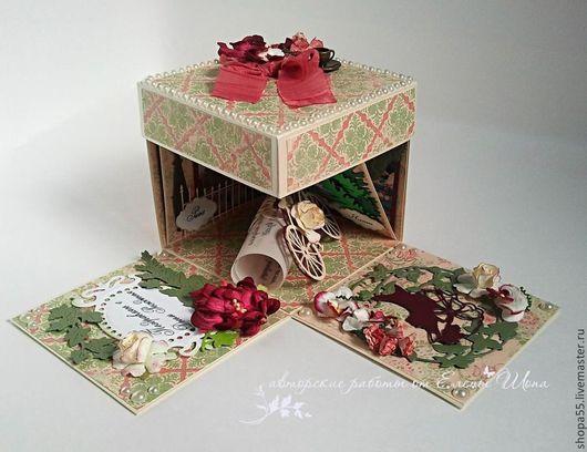 Персональные подарки ручной работы. Ярмарка Мастеров - ручная работа. Купить Коробочка  для денег или подарочной карты. Magic Box.. Handmade.