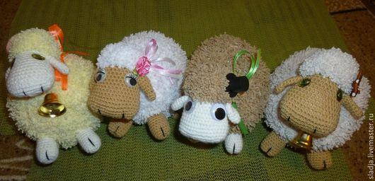 Игрушки животные, ручной работы. Ярмарка Мастеров - ручная работа. Купить большая овца. Handmade. Овца, новогодний сувенир