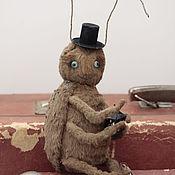 Куклы и игрушки ручной работы. Ярмарка Мастеров - ручная работа Сверчок, приносящий удачу. Handmade.