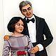 Портретные куклы ручной работы. Ярмарка Мастеров - ручная работа. Купить Портретные куклы к юбилею свадьбы. Handmade. Портретные куклы