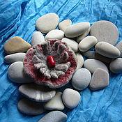 """Украшения ручной работы. Ярмарка Мастеров - ручная работа Брошь """"Каменный цветок"""". Handmade."""