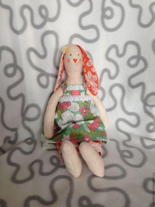 """Куклы Тильды ручной работы. Ярмарка Мастеров - ручная работа. Купить тильда-зайка """"Маруся"""". Handmade. Комбинированный, зайка"""
