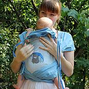 Одежда ручной работы. Ярмарка Мастеров - ручная работа Слинги с вышивкой Мишки Тэдди. Handmade.