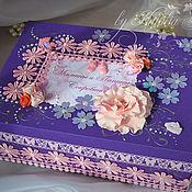 Подарки к праздникам handmade. Livemaster - original item Box to store my mother`s treasures. Handmade.