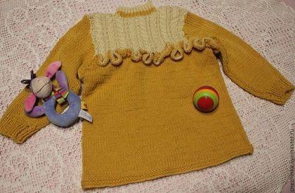 """Одежда для девочек, ручной работы. Ярмарка Мастеров - ручная работа Джемпер """"Солнечный зайчик"""". Handmade."""