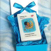 Подарки к праздникам ручной работы. Ярмарка Мастеров - ручная работа Мыло Love is... сказка (в коробочке ручной работы). Handmade.
