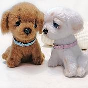 Куклы и игрушки handmade. Livemaster - original item Soft toys: puppies. Handmade.