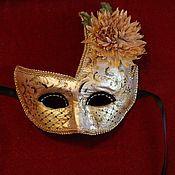 Подарки к праздникам ручной работы. Ярмарка Мастеров - ручная работа Венецианская карнавальная маска - Дама (разновидность). Handmade.