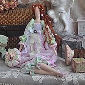 """Куклы и игрушки ручной работы. Ярмарка Мастеров - ручная работа Кукла в стиле Тильда """"Весна в ее глазах"""". Handmade."""