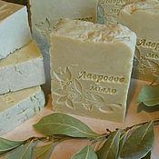 Косметика ручной работы handmade. Livemaster - original item Laurel soap from scratch (10% oil of Laurel). Handmade.
