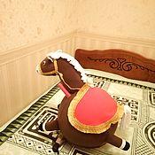 Куклы и пупсы ручной работы. Ярмарка Мастеров - ручная работа Чехол лошадка на фитнес мяч. Handmade.