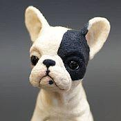 Куклы и игрушки ручной работы. Ярмарка Мастеров - ручная работа Бульдог Арман. Handmade.