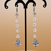 Украшения handmade. Livemaster - original item Earrings natural Crystal stones. Handmade.