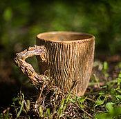 Посуда ручной работы. Ярмарка Мастеров - ручная работа Чашка-деревяшка. Handmade.